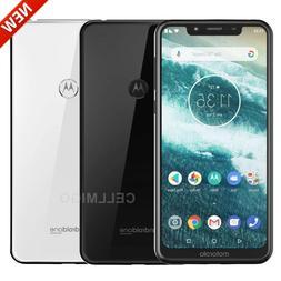 "Motorola One  5.9"" Dual SIM 4G LTE GSM Factory Unlocked Phon"