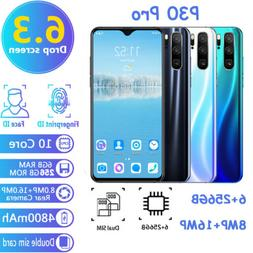 P30 Pro 6+256GB Smart Phone 6.3inch Screen Android System Du
