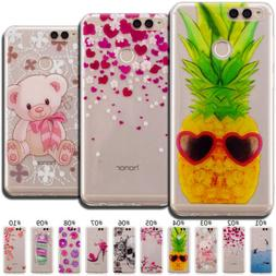 Painted Case Cover Soft TPU Skin Slim Silicone Back For Huaw