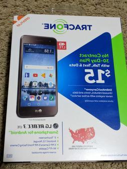 LG - REBEL 3 L158VL 4G LTE  16GB MEMORY CELL SMARTPHONE TRAC