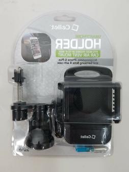 "Cellet Smart Phone Holder Mount 4"" Car Air Vent Mount New &"