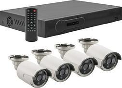 Metra Spyclops 4 Channel POE NVR Kit w/ 4 Cameras and 1TB HD