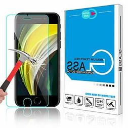tempered glass iphone se 2020 7 8