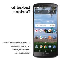 Tracfone Motorola Moto G6 4G LTE Prepaid Phone with $40 Airt