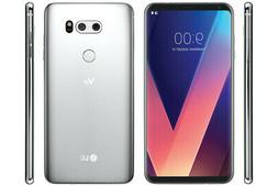 LG V30 64GB Factory Unlocked - Silver Smartphone Android US9