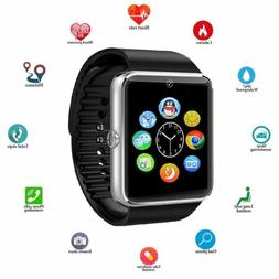 Waterproof Wireless Smart Watch Phone Mate For iphone IOS An